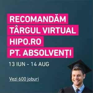 Targ virtual hipo pentru absolventi