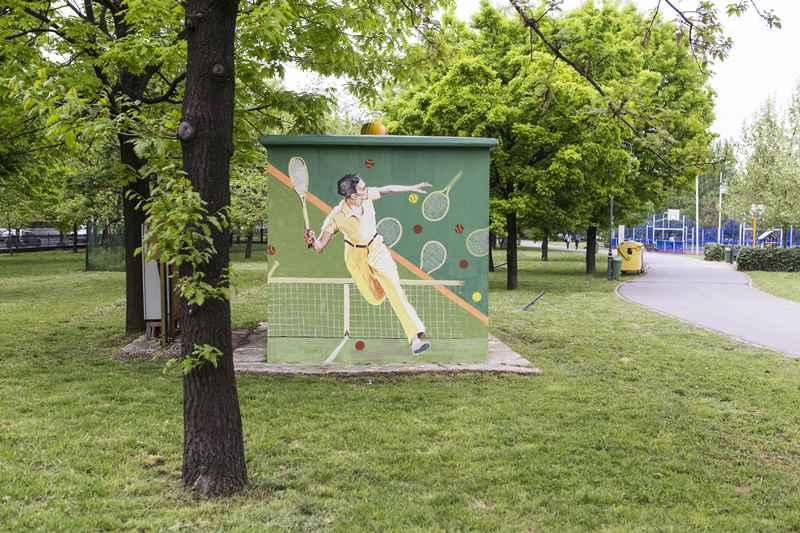Post de transformare tenis - Parcul Izvor