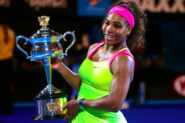 Serena Williams a cucerit al 6-lea titlu de Mare Şlem la ediţia precedentă a Australian Open.