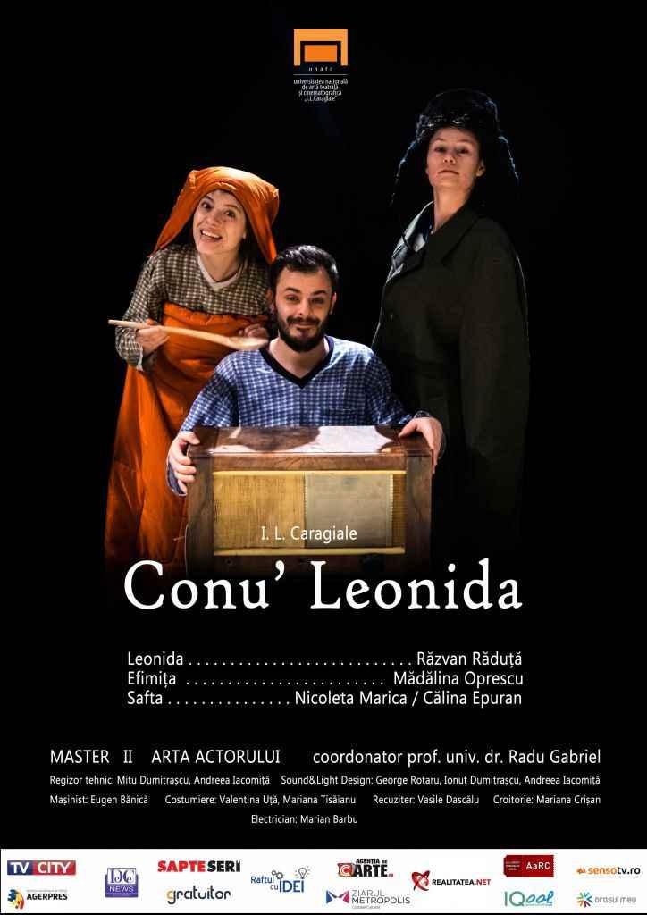 Conu Leonida afis