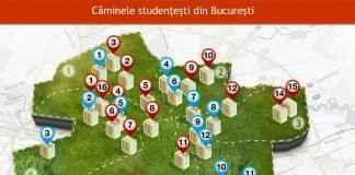 Top 5 cămine pentru studenți în București