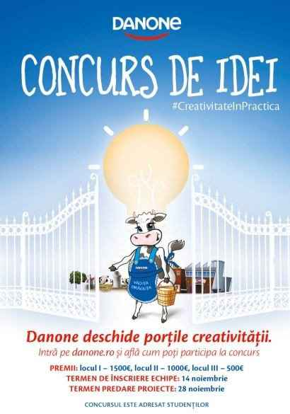 danone concurs de idei iqool.ro