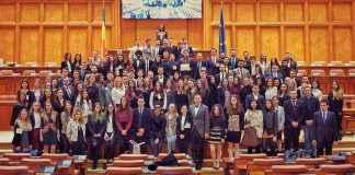 Simularea Parlamentului României, proiect ajuns la ediția a 6a