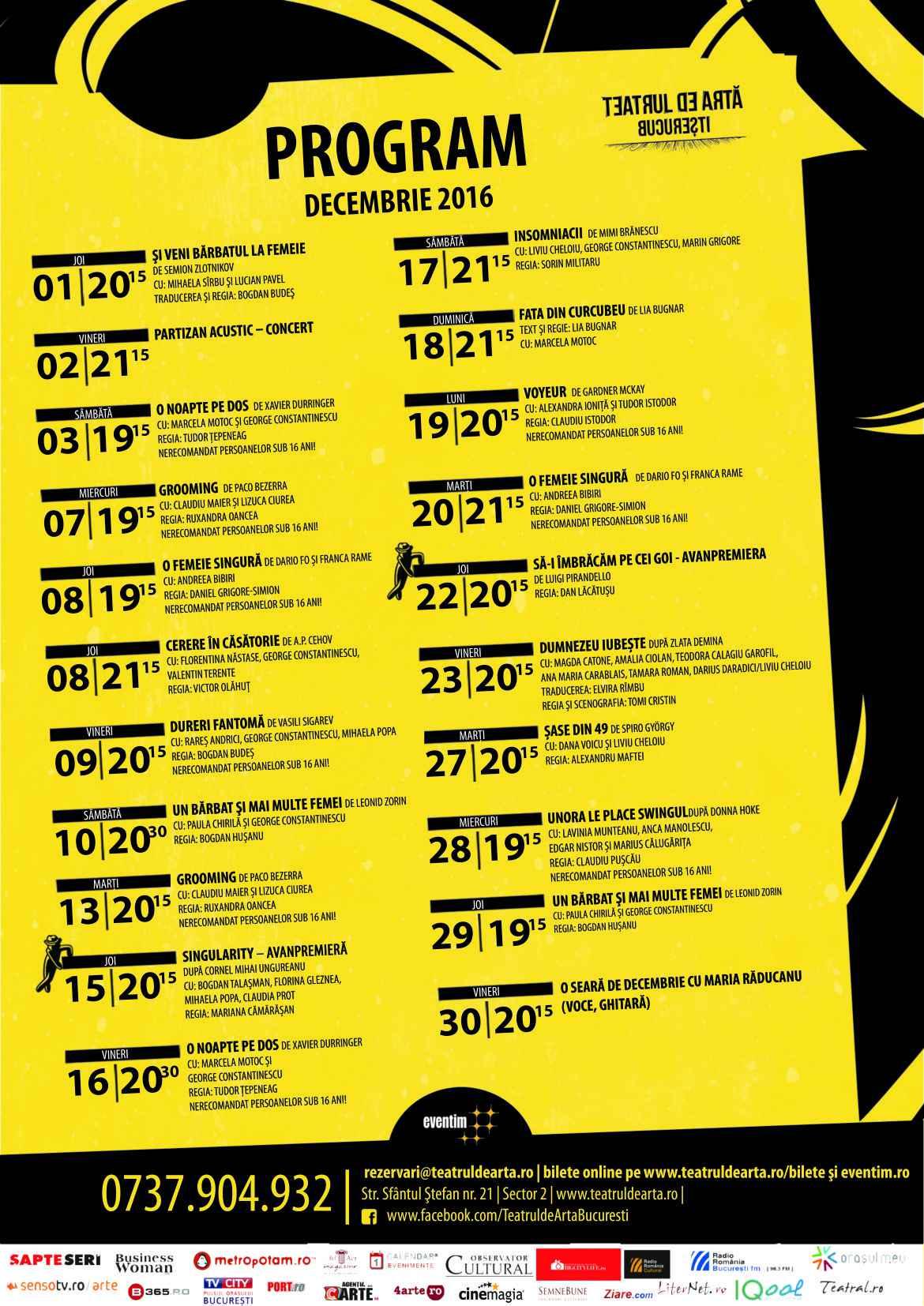 Decembrie Cu Parfum De Sărbătoare La Teatrul De Artă București Iqool