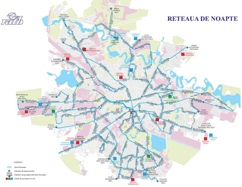 Harta Ratb Trasee Noapte Iqool