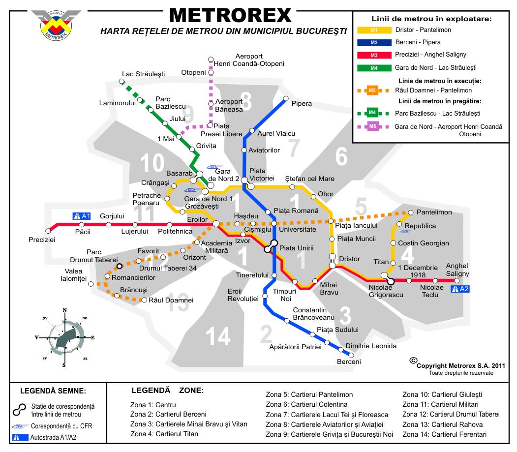 Metrorex suplimentează numărul de garnituri de metrou