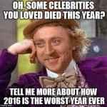 Marile personalităţi care au decedat în anul 2016