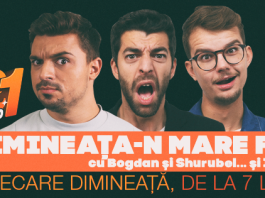 Interviu Dimineața-n mare fel cu Bogdan, Shurubel și…Ionuț