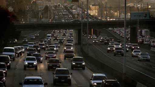 traficul din București