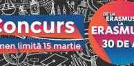 Erasmus+ 30 în 30 de cuvinte
