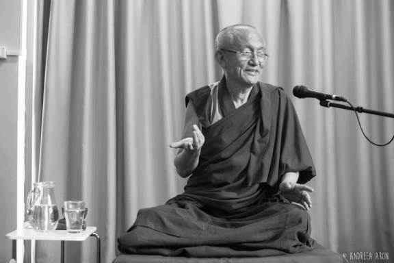 Gonsar Rinpoche in Bucharest