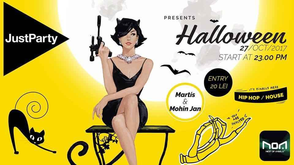 n România de câțiva ani buni în ultimele zile ale lunii octombrie sunt programate petrecerile de Halloween. Halloween Party Cluj se va desfășura...