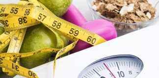 dieta cântar și gantere