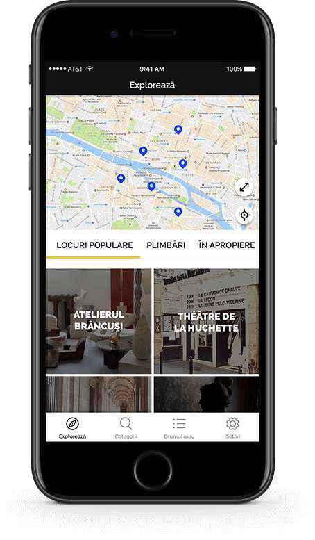 aplicație mobilă în cinstea Centenarului