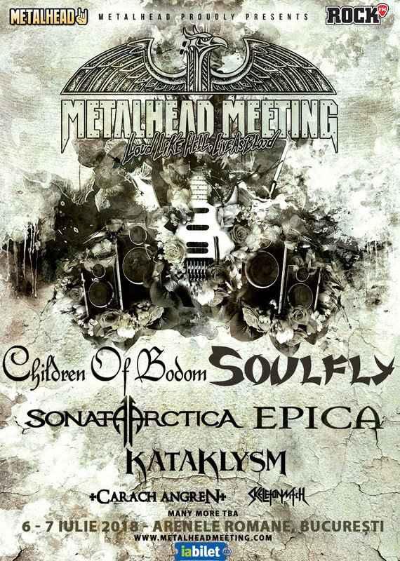Trupa SOULFLY - confirmată la Metalhead Meeting Festival 2018