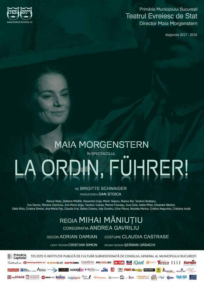 """Premieră la Teatrul Evreiesc de Stat - SPECTACOLUL """"LA ORDIN, FÜHRER!"""