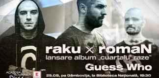 Guess Who și raku x romaN – concert pe Dâmbovița