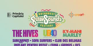 Ky-Mani Marley, UB40 - Ali, Astro și Mickey, The Hives la BUCHAREST GreenSounds FESTIVAL
