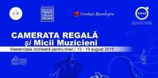"""Masterclass de orchestră prin """"Camerata Regală și Micii Muzicieni"""""""