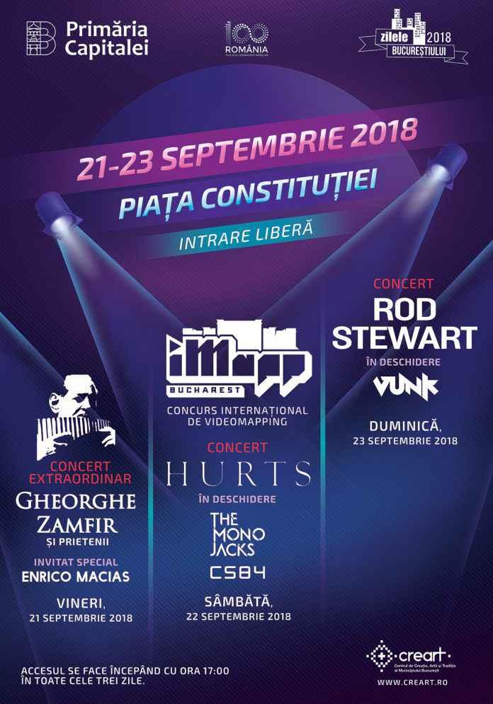 Maraton cultural de Zilele Bucureștiului, în Piața Constituției din Capitală!