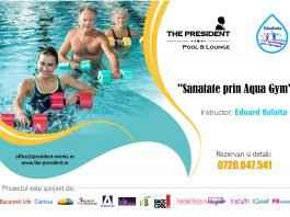 """""""Sanatate prin aqua gym"""" - programul educațional pentru combaterea sedentarismul"""