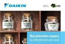 """""""Plantăm Aer"""" - programul de responsabilitate socială dezvoltat de Daikin România"""