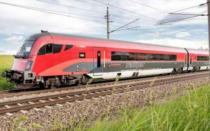 trenuri directe între Cluj-Napoca și Viena