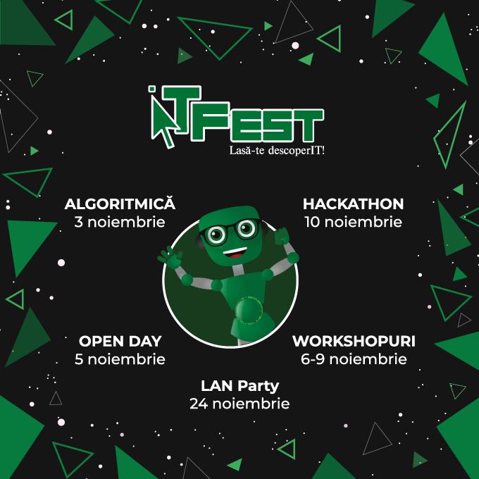 ITFest te invită și în acest an să te lași descoperIT!