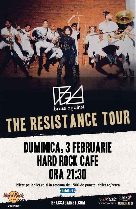 Brass Against în concert în premieră la București!