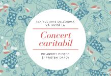 concert caritabil afis