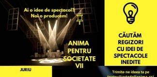 Teatrul Arte dell'Anima_concurs afiș