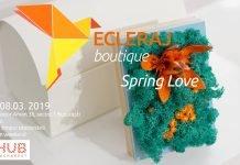 ARTHUB Bucharest_ Ecleraj Boutique editia 3 Spring Love afiș