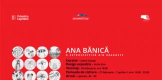 Ana Bănică eveniment afis