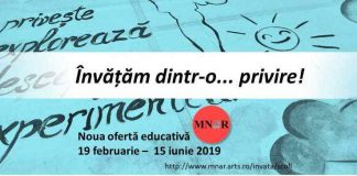 MNAR program educativ afis