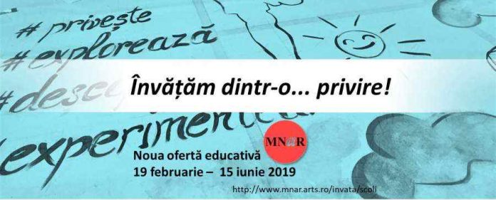 MNAR program educativ afis