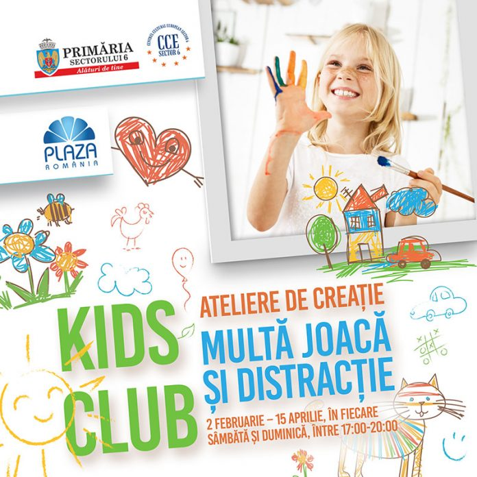 Kids Club afis eveniment
