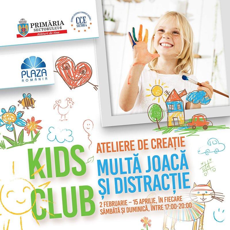 Kids Club afis eveniment