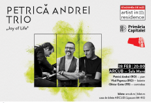 Petrica Andrei Trio 28 feb afiș