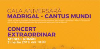 Ateneul Roman concert afis
