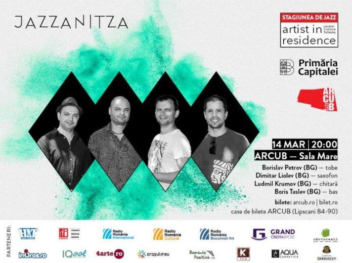 afis Jazzanitza 14 martie
