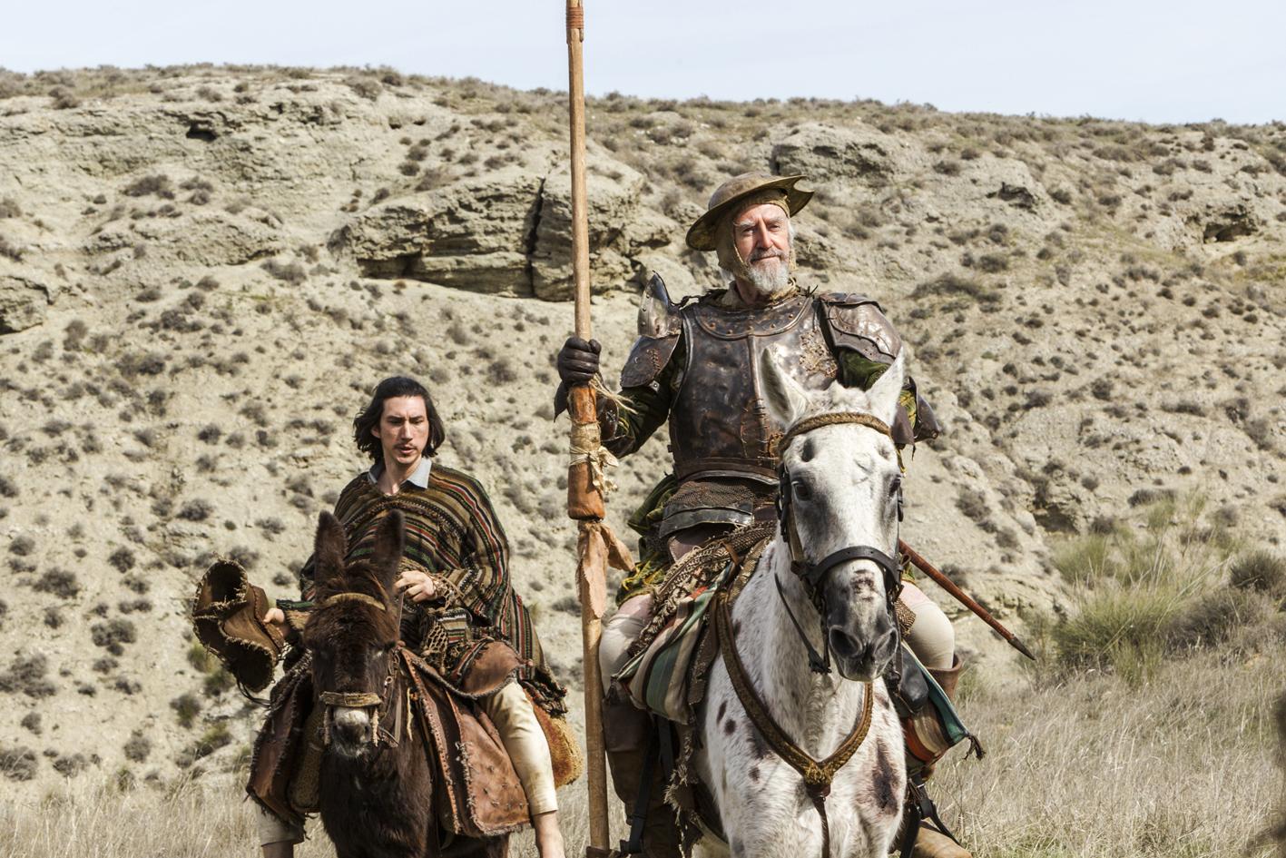 afis Omul care l-a ucis pe Don Quixote