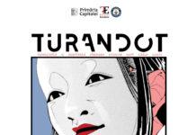 afis spectacol Turandot Teatrul Excelsior