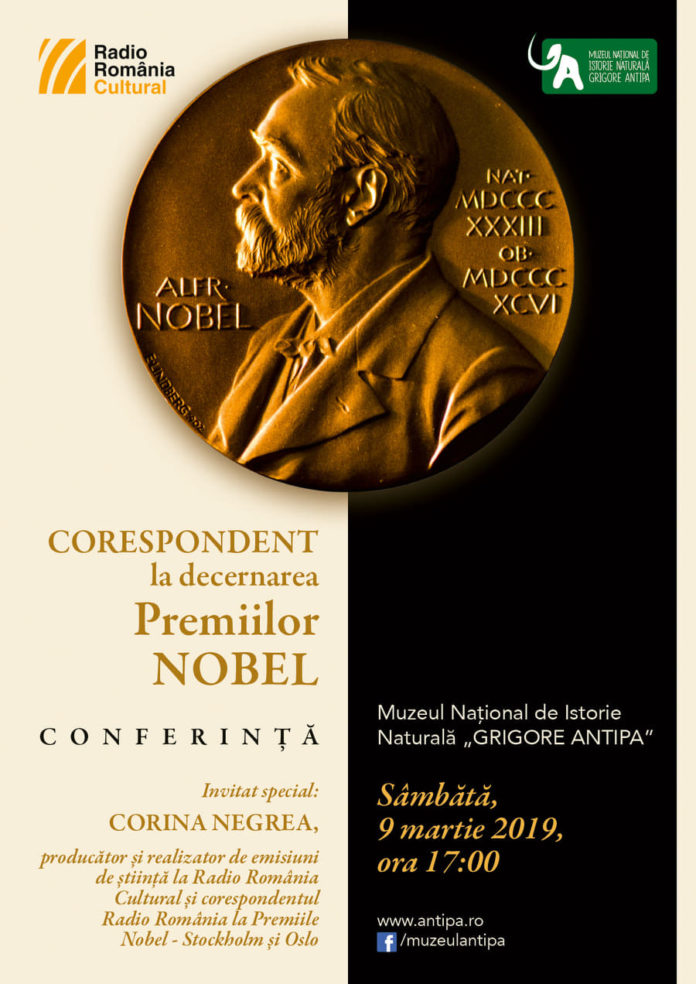 Corespondent la Premiile Nobel afiș