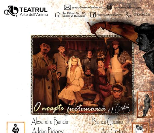 Teatrul Arte dell'Anima afiș