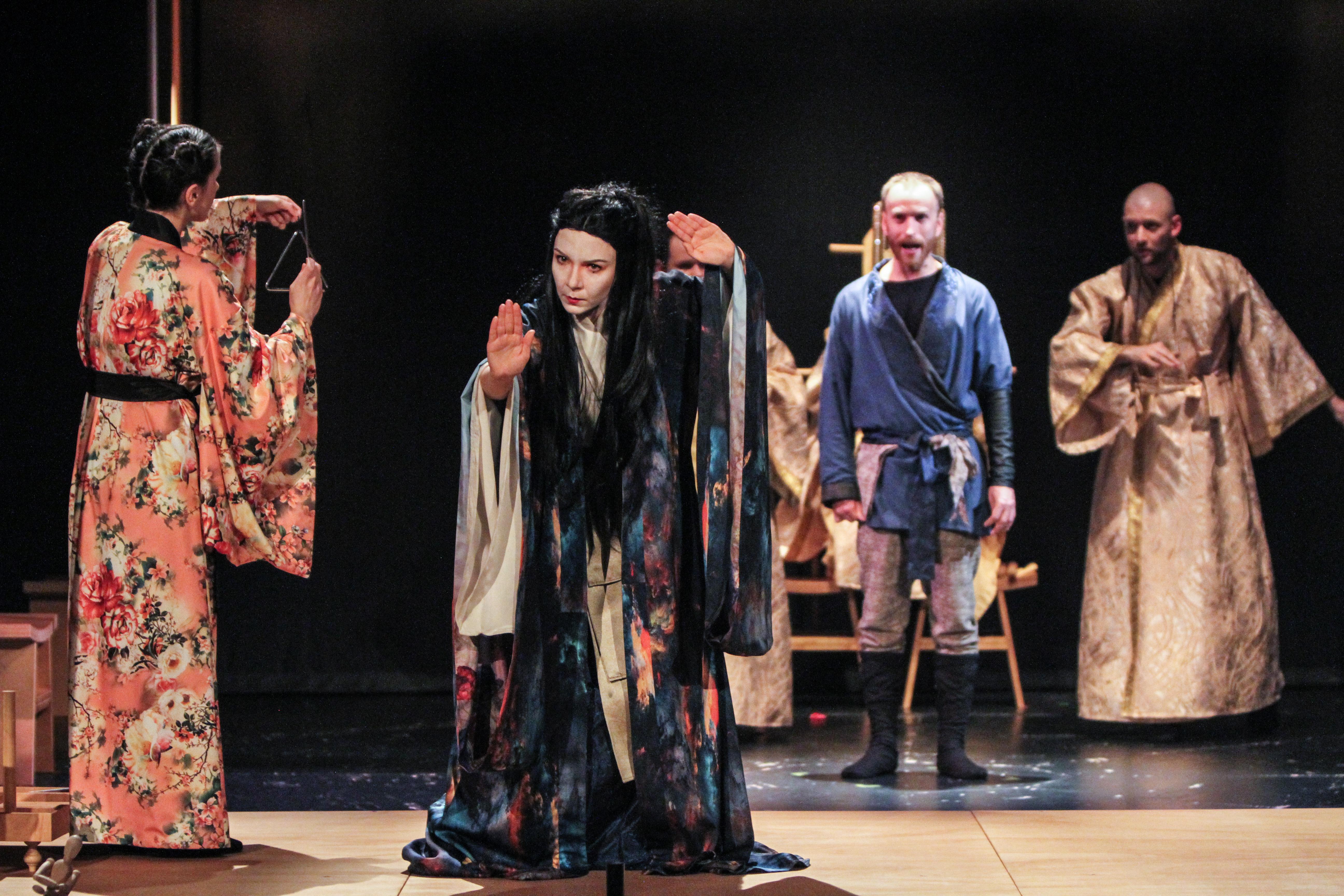 afis spectacol Turandot