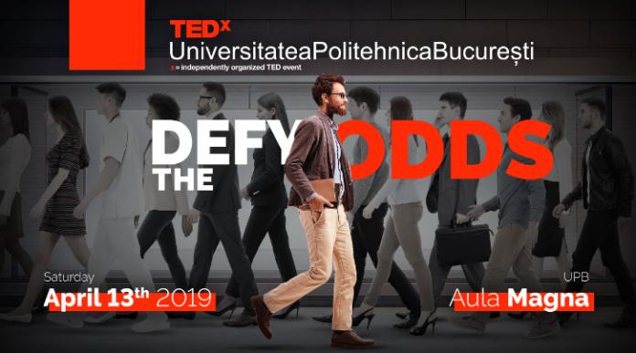 TEDxUniversitateaPolitehnicaBucurești afis