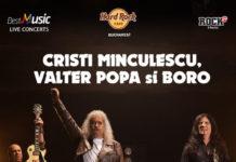 Cristi Minculescu afis concert