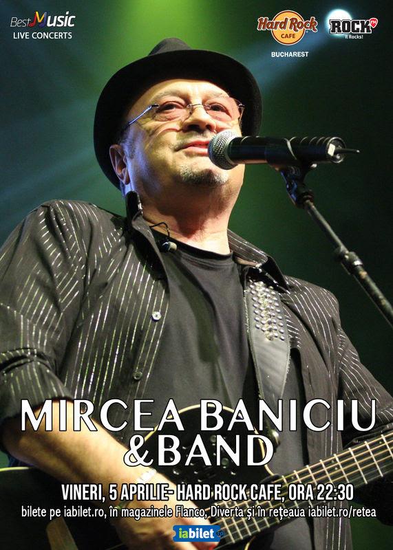 afis Mircea Baniciu Hard Rock Cafe