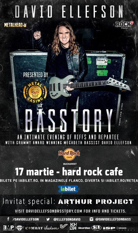 David Ellefson concert Hard Rock Cafe
