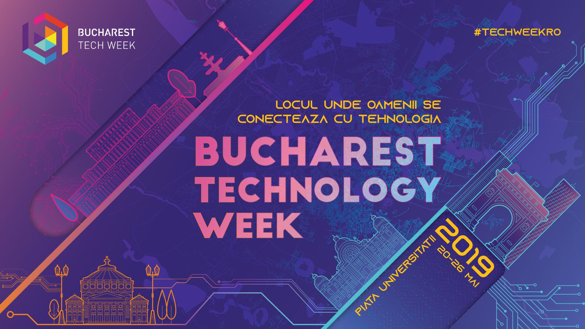 BucharestTechWeek afis